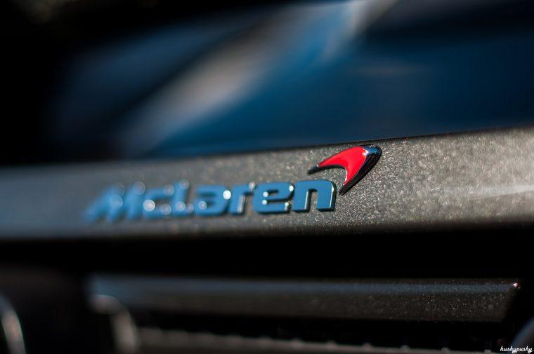 Mclaren logo red swoosh