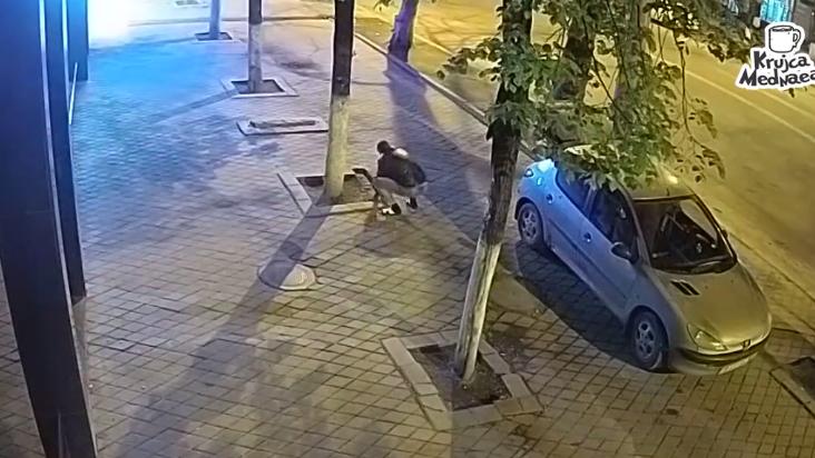 Moldova stealing pavement