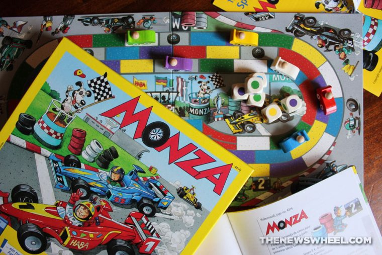 Monza children's board game from HABA review