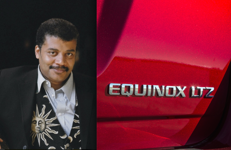 Neil deGrasse Tyson tweets list of 33 Cosmic Car Names