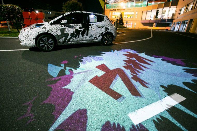 Nissan LEAF CARtoon