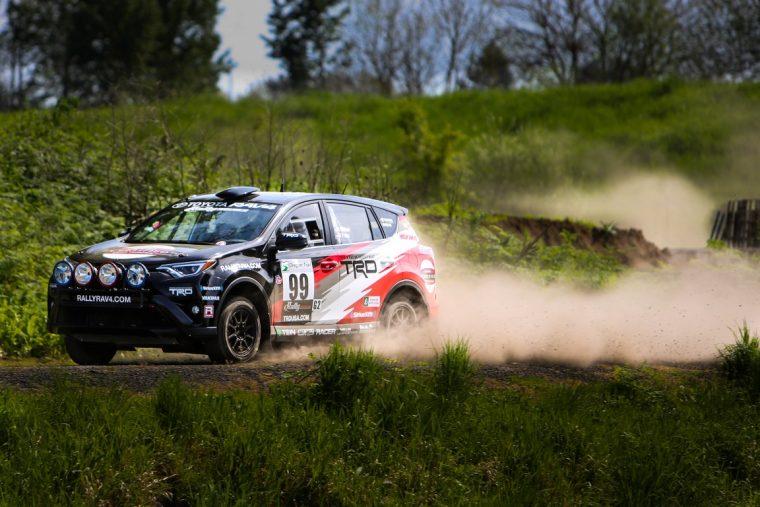 Rally RAV4 oregon trail rally