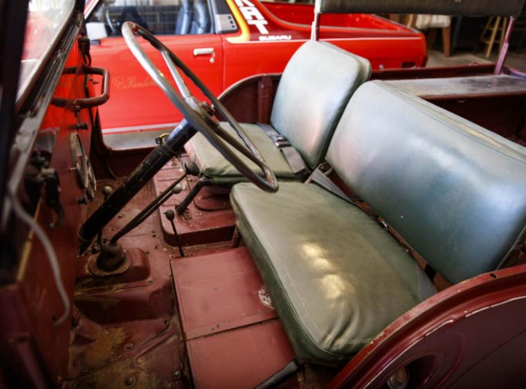 Ronald Reagan Willys CJ-6 Front Seats