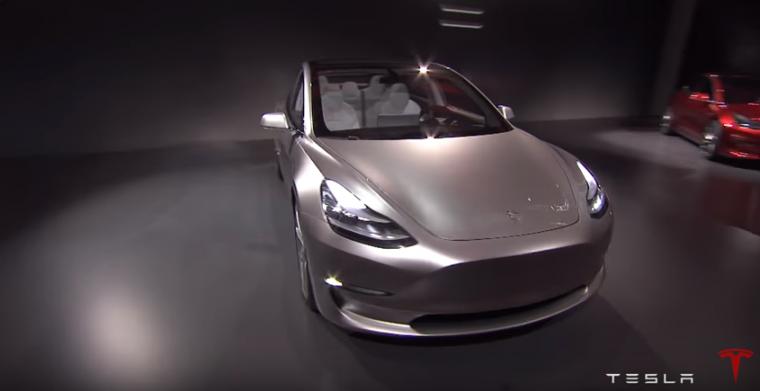 Tesla Model 3 reveal 2