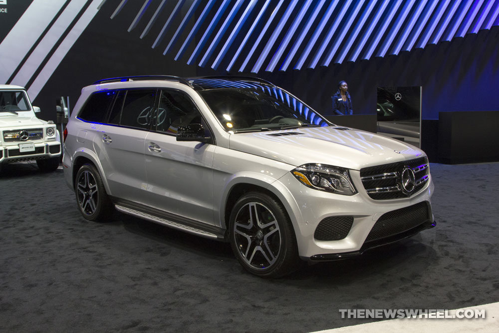The All New 2017 Mercedes Benz Gls The News Wheel