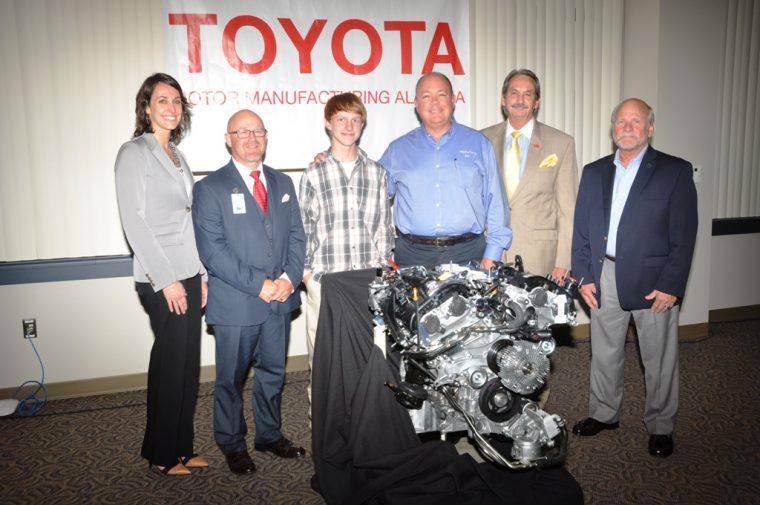 Toyota Alabama Engine Donation