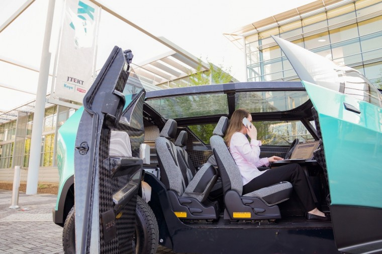 The Toyota uBox concept, created by Deep Orange, the collaboration between Toyota and students at t Clemson University's International Center for Automotive Research