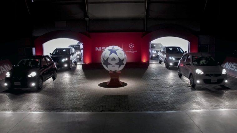 UEFA Champions League Nissan Soccer