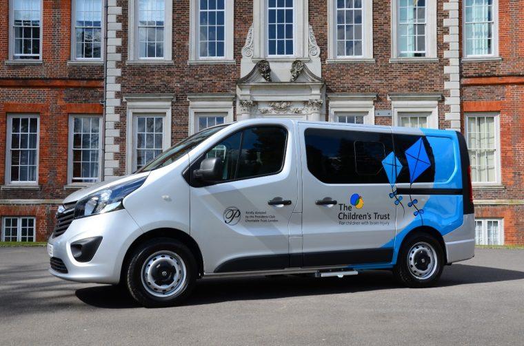Vauxhall Vivaro added to The Children's Trust fleet