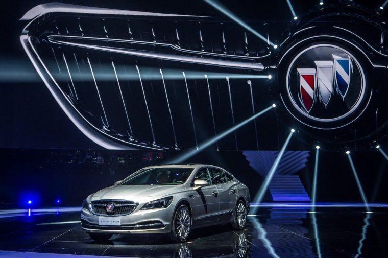Buick launches new LaCrosse in China