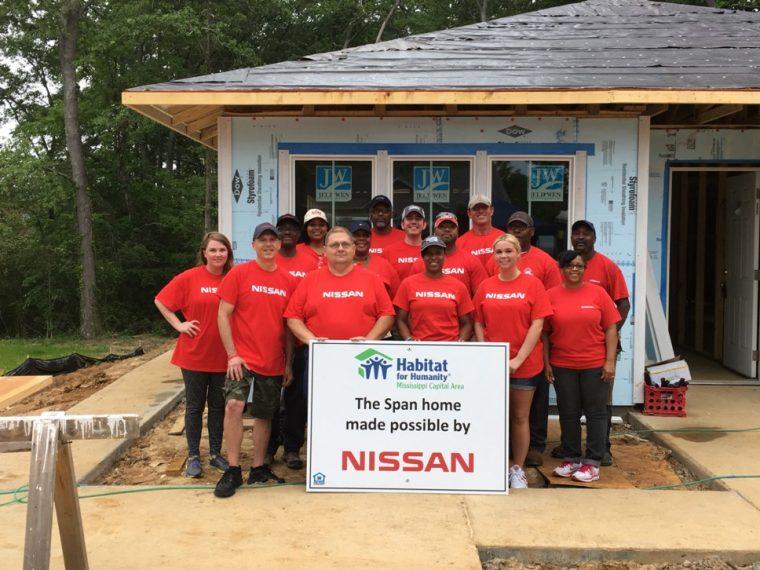 Nissan Habitat for Humanity