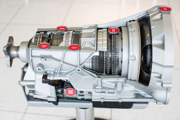 10-speed automatic transmission 2017 Ford F-150