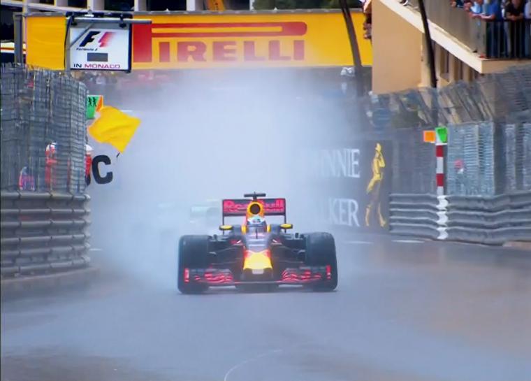 2016 Monaco Grand Prix - Wet Conditions