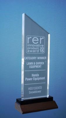 Honda Power Equipment Earns Industry Award