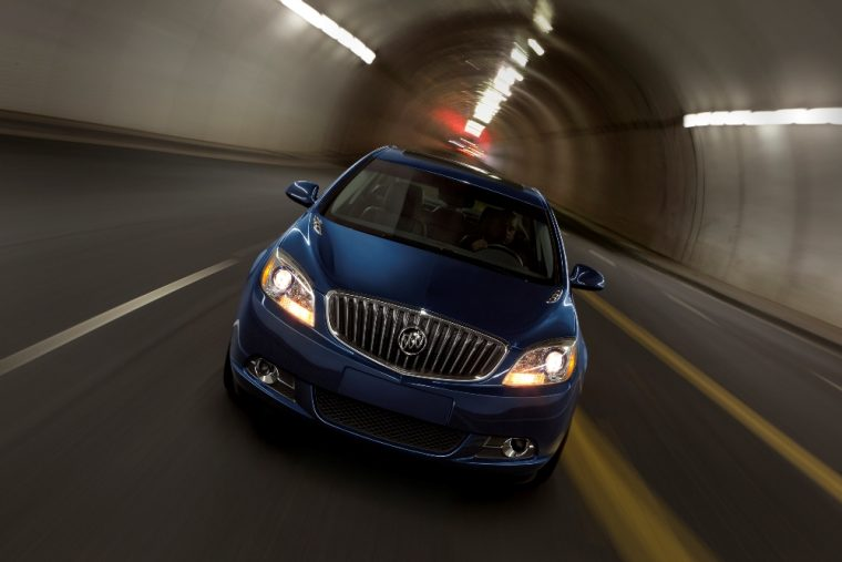 The Verano compact sedan will be removed from Buick's lineup following the 2017 model year