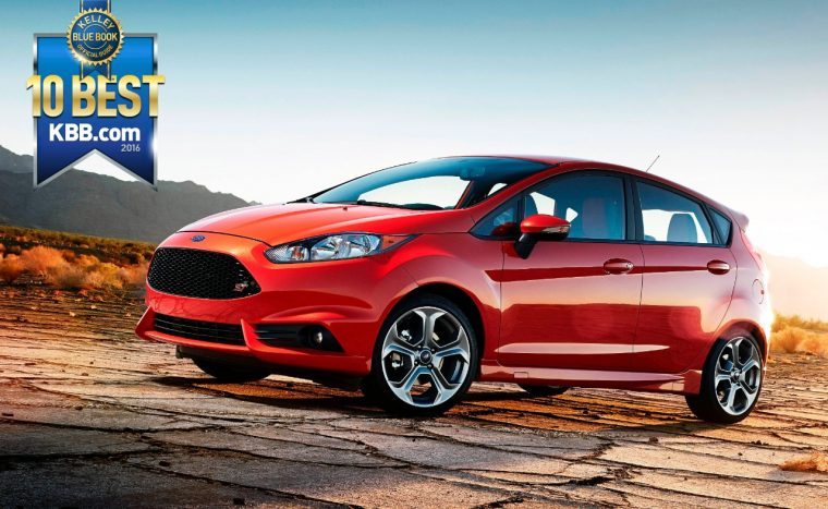 2016 Ford Fiesta ST Kelley Blue Book 10 Coolest New Cars