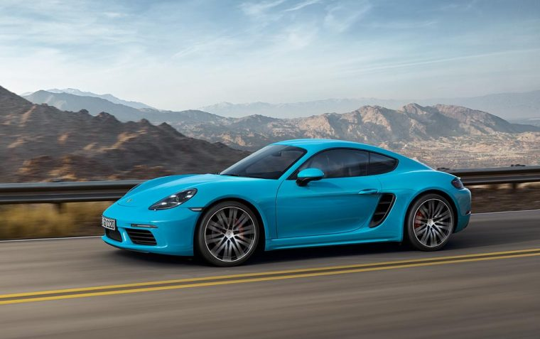 The 2017 Porsche 718 Cayman will offer the choice of two powerful turbo engines and has a starting MSRP in the mid-50,000s