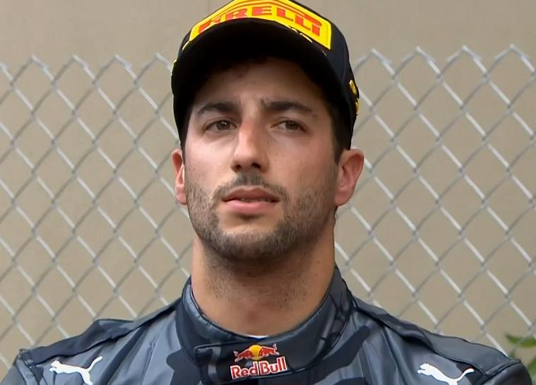 2016 Monaco Grand Prix - Sad Ricciardo