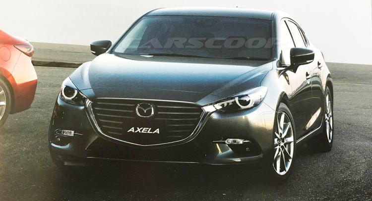 CarScoops Mazda3 update