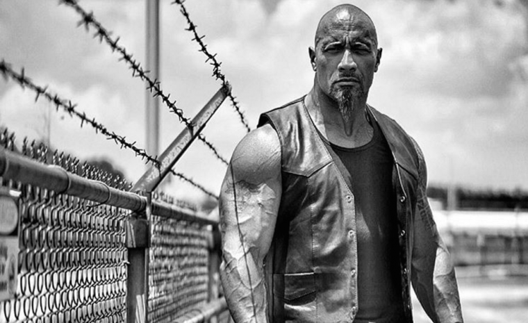 Dwayne Johnson Instagram post shows actor dressed as Fast and Furious character Luke Hobbs