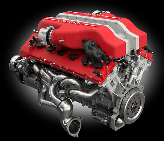 Ferrari F12Berlinetta Engine