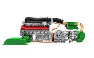 Ferrari LaFerrari Engine