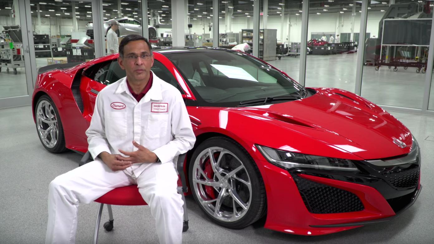 Who Makes A Honda Video Profiles 2017 Acura Nsx