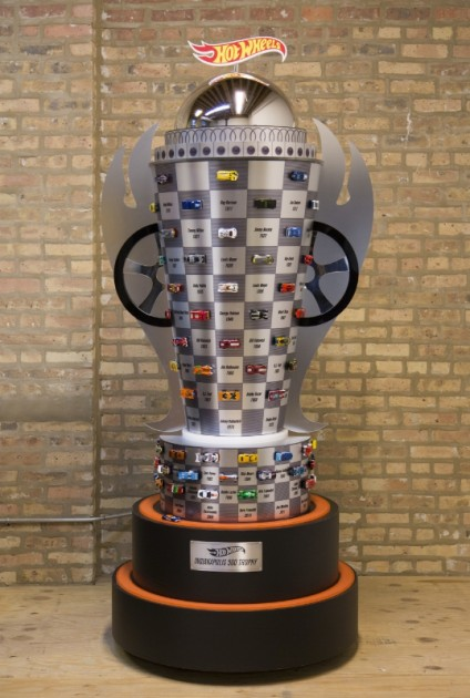 Hot Wheels trophy for 100th Indianapolis 500 race