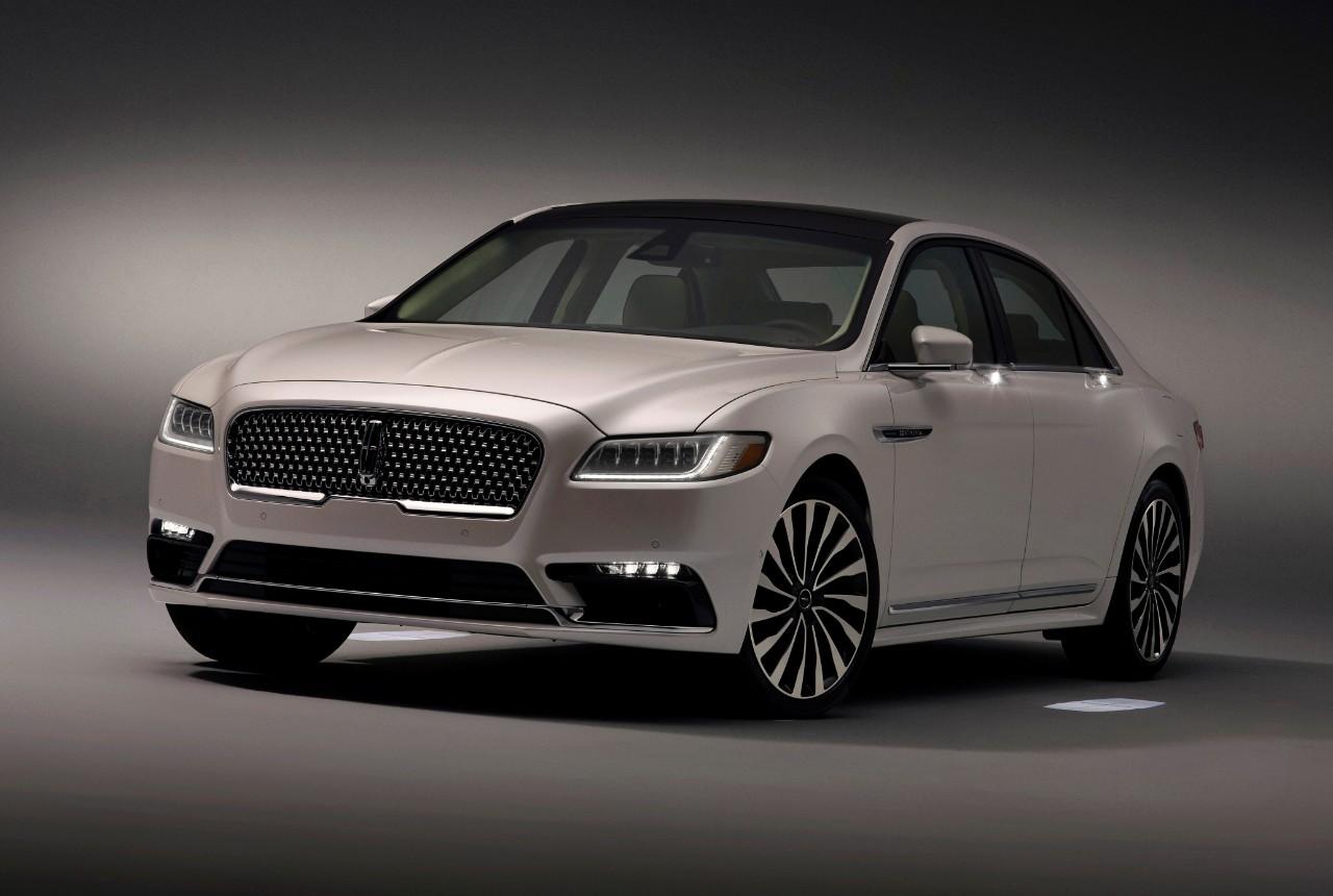 2017 Lincoln Continental Gets Fancy-Schmancy Approach ...