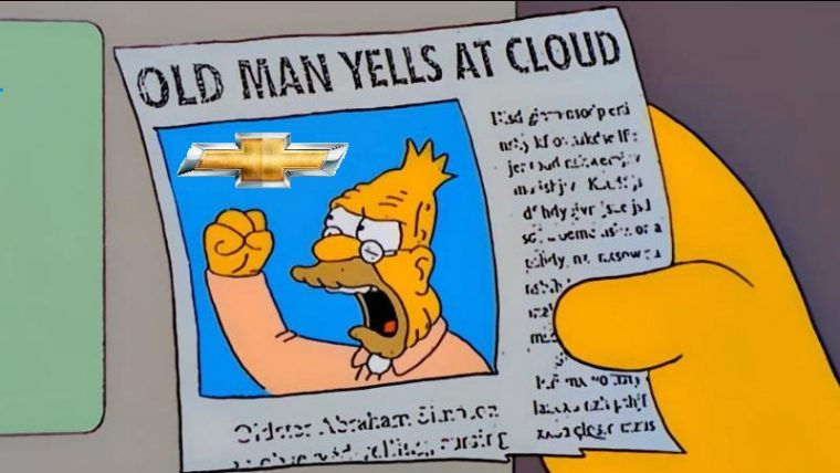 Old Man Yells at Cloud Chevy