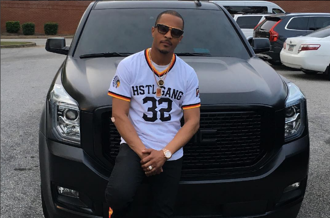 Hip-Hop Star T.I. Shows Off New Yukon Denali and Mercedes ...