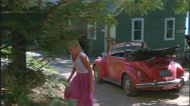 The convertible VW Bug from Friday the 13th Part 2