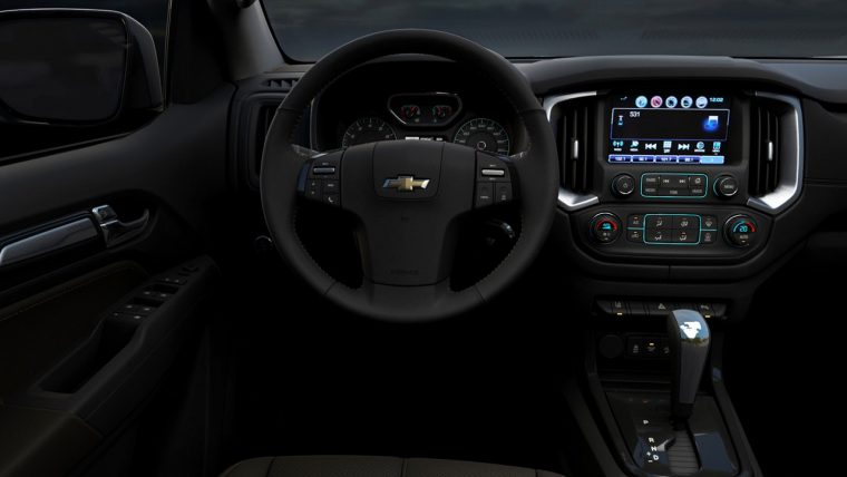 Holden Trailblazer interior