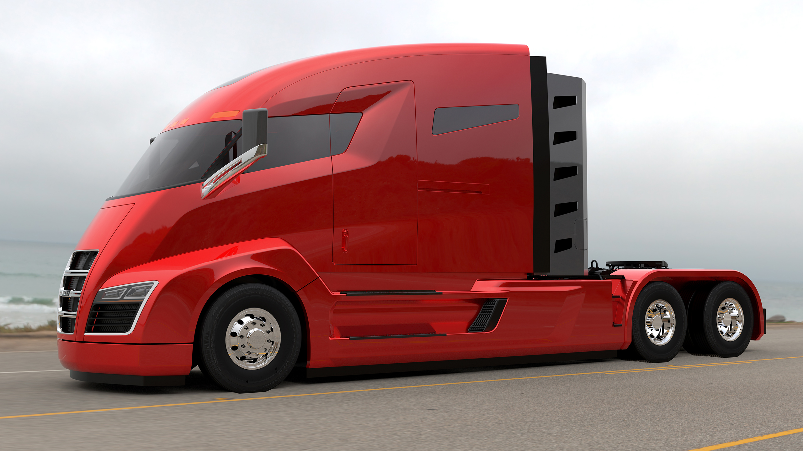 Nikola One electric semi