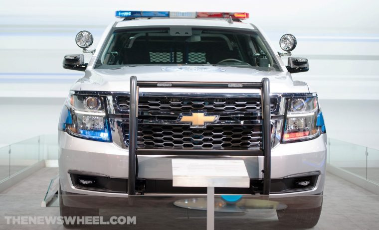 2015 Chevrolet Tahoe Police Edition