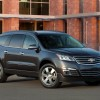 The Chevy Traverse was tied for the top-spot on the this year's Kogod Made in America Automotive Index