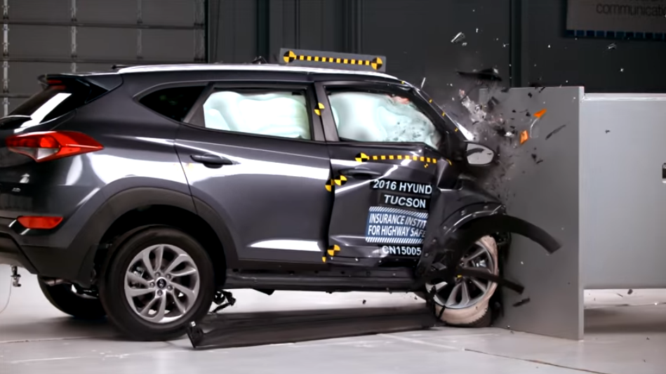 2016 Hyundai Tucson Earns Best Safety Scores From Iihs In Small Suv