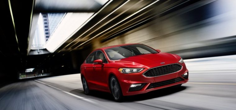 The 2017 Ford Fusion mid-size sedan offers an attractive exterior design, multiple powertrain options, and the latest safety features