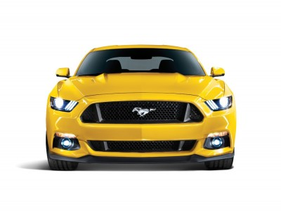 2017 Ford Mustang yellow