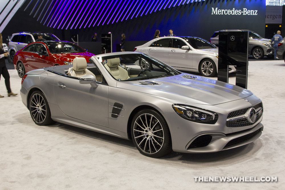 2017 Mercedes-Benz SL Overview - The News Wheel