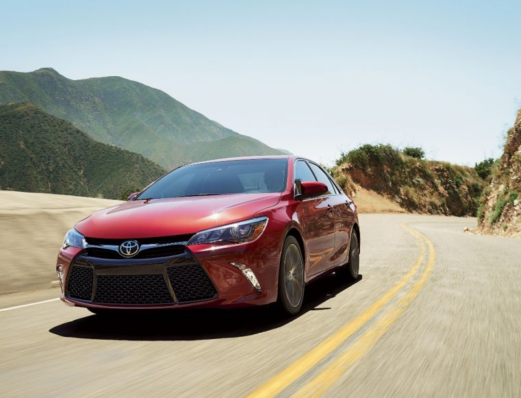 The 2017 Toyota Camry carries a starting MSRP of $23,070 and this best-selling sedan can yield up to 33 mpg on the highway