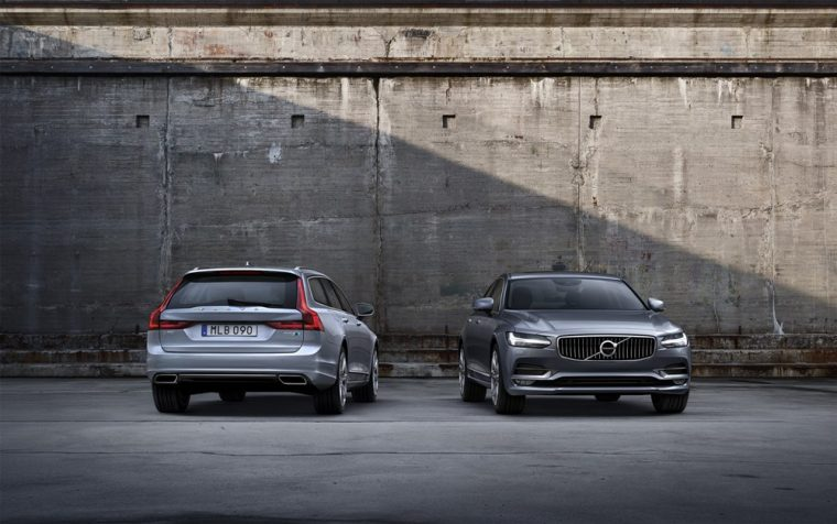 Volvo Has Revealed That Its New V90 Wagon And S90 Sedan Will Be Offered With A