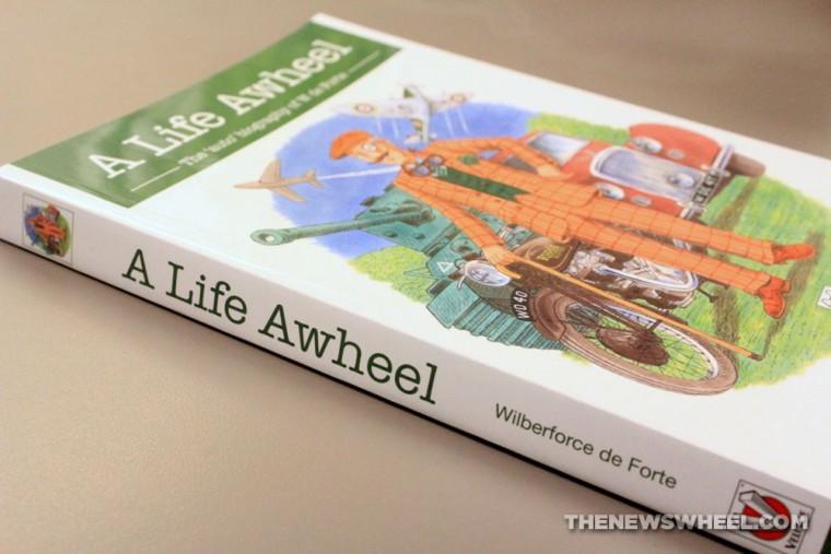 A Life Awheel auto biography book review Veloce W de Forte
