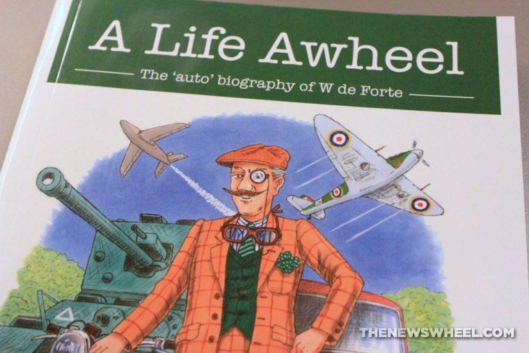 A Life Awheel auto biography book review Veloce W de Forte cover