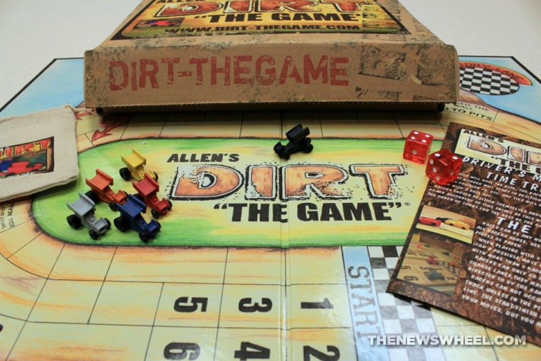 Allen's Dirt the Game board game review board box