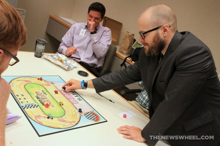 Allen's Dirt the Game board game review playing