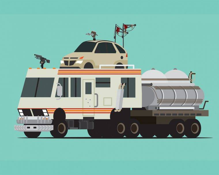 Breaking Bad RV as The War Rig from Mad Max