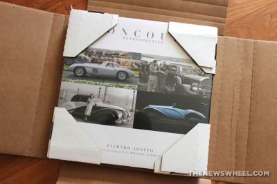 Concours Retrospective book review Coachbuilt Press Richard Adatto packaging