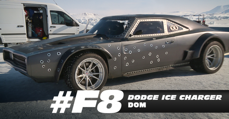 Furious 8 Dodge Ice Charger