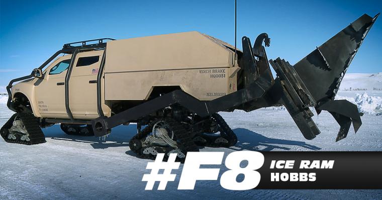 Furious 8 Ice Ram